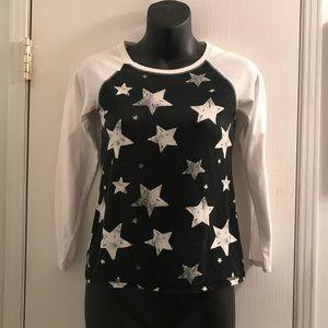 (Large) Arizona Jean Co Distressed Star T-Shirt